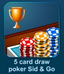 Играть 5 Card Draw Poker (Sit & Go) онлайн бесплатно