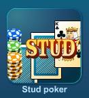 Играть Стад покер (Stud Poker) онлайн бесплатно